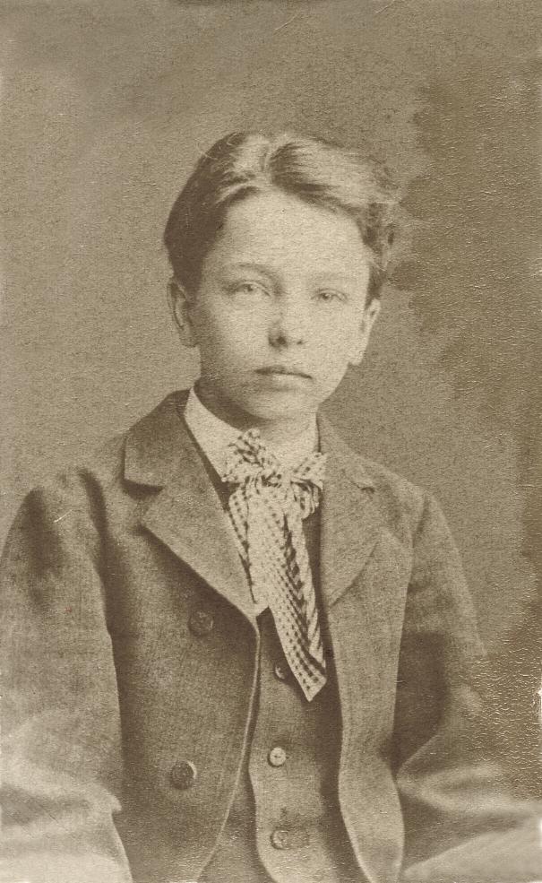 Eero Järnefelt as a child