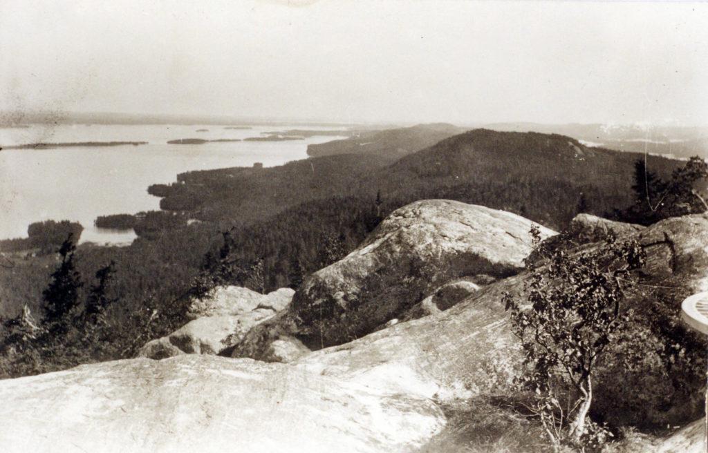 Koli, fotograferad av Eero Järnefelt